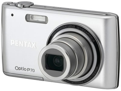 Pentax Optio P70 stříbrný