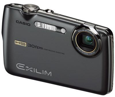 Casio EXILIM FS10 šedý