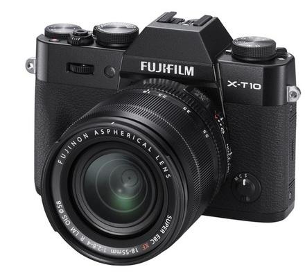 Fujifilm X-T10 + 18-55 mm černý + 32GB karta + brašna Oslo 14Z + ochrana LCD!
