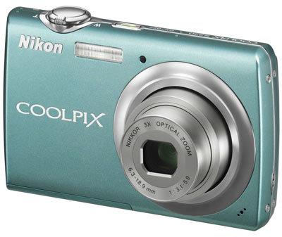 Nikon CoolPix S220 světle zelený