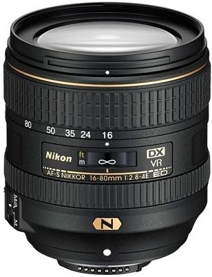 Nikon 16-80mm f/2,8-4,0E AF-S  DX ED VR