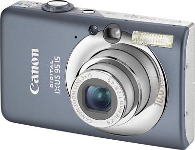 Canon IXUS 95 IS šedý