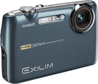 Casio EXILIM FS10 modrý