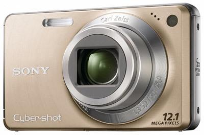 Sony CyberShot DSC-W270 zlatý