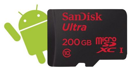 SanDisk Micro SDXC 200GB Ultra Android 90MB/s Class 10 UHS-I + Adaptér