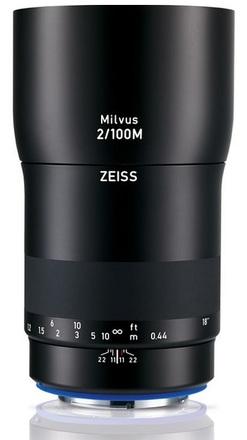 Zeiss Milvus 100mm f/2 M ZE pro Canon