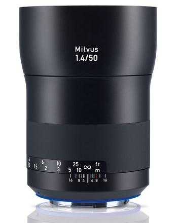 Zeiss Milvus 50 mm f/1,4 ZE pro Canon