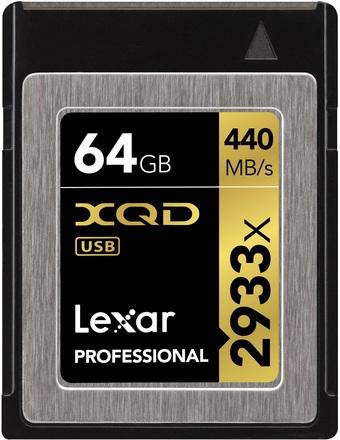 Lexar XQD 64GB 2933x Professional