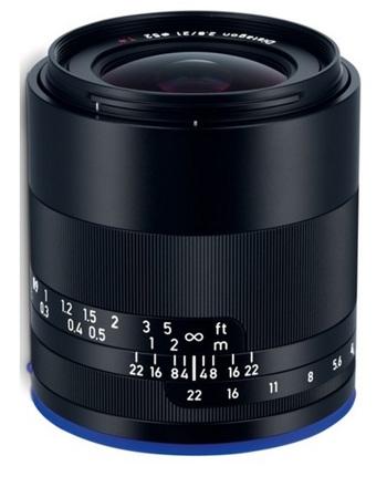 Carl Zeiss Loxia T* 21mm f/2,8 pro Sony E