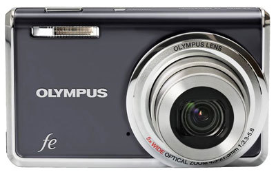 Olympus FE-5020 šedý