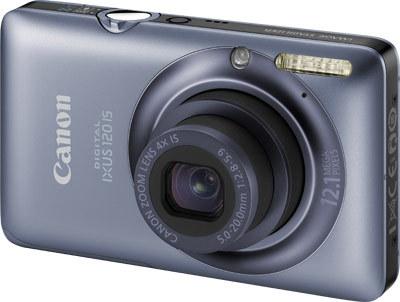 Canon IXUS 120 IS modrý