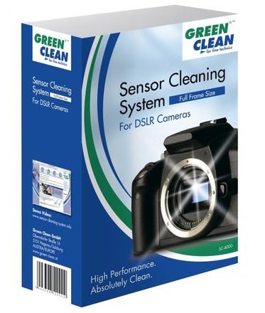 Green Clean čistící sada pro full frame snímače