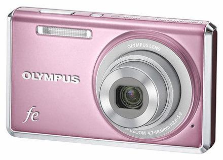 Olympus FE-4030 růžový