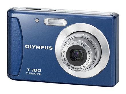 Olympus T-100 modrý