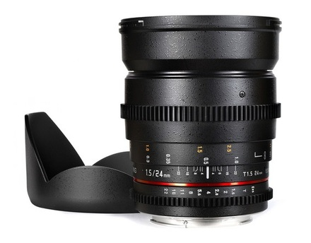 Samyang CINE 24mm T/1,5 VDSLR pro Sony