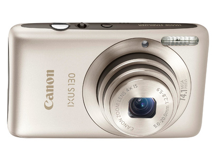 Canon IXUS 130 stříbrný