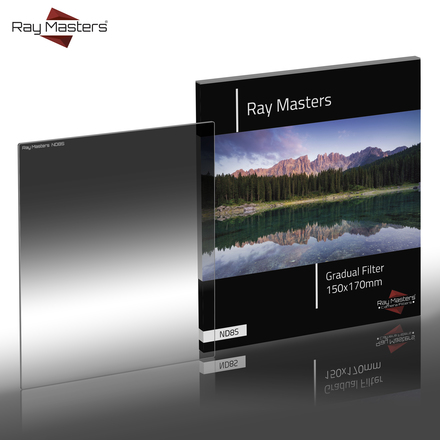 Ray Masters 150x170mm ND 8 filtr jemný