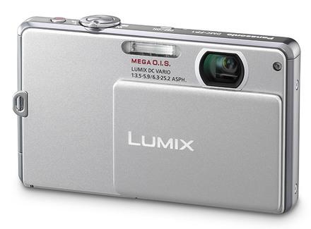 Panasonic Lumix DMC-FP1 stříbrný