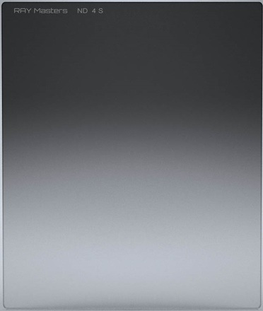 Ray Masters 84x100mm ND 4 filtr 0,6 jemný