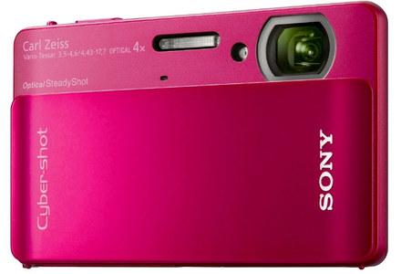 Sony CyberShot DSC-TX5 červený