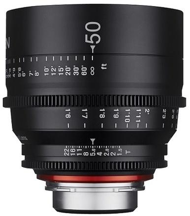 Samyang XEEN CINE 50mm T/1,5 pro Canon EF