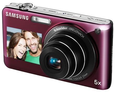 Samsung ST600 růžový