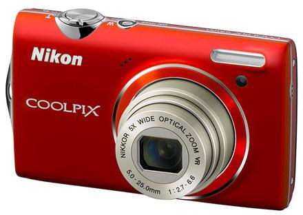 Nikon CoolPix S5100 červený