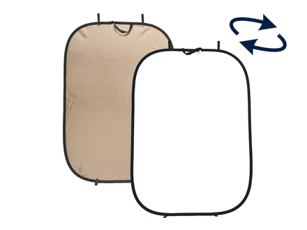 Lastolite Panelite odrazná deska 180x125cm oheň/bílá