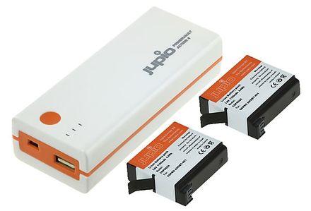 Jupio PowerVault Action 4 + 2x baterie pro GoPro Hero 4