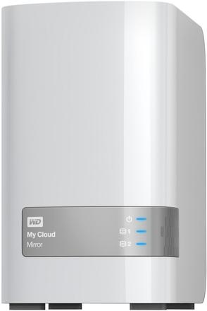"Western Digital My Cloud Mirror 8TB, 3.5"" síťový, bílý"