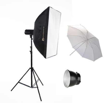 Photon Europe set Digital Master 150 WS + Softbox 60x60