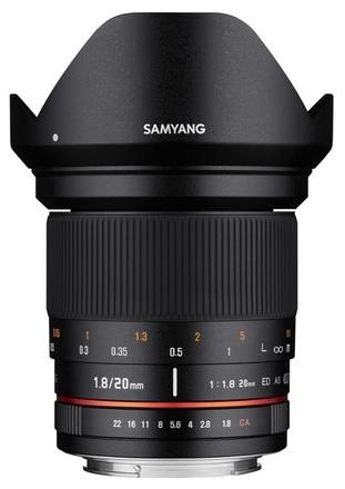 Samyang 20mm f/1,8 ED AS UMC pro Micro 4/3