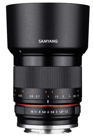 Samyang 35mm f/1,2 AS UMC CS pro Canon M