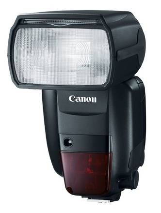 Canon blesk Speedlite 600 EX-RT II + portrétní set + 4x AA 2450 mAh!