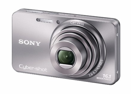 Sony CyberShot DSC-W570 stříbrný