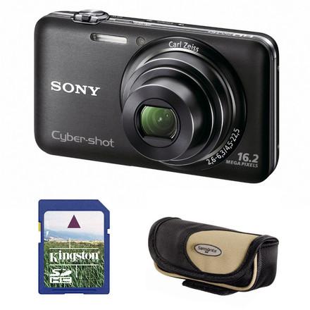 Sony CyberShot DSC-WX7 černý + 4GB karta + pouzdro Korsika!