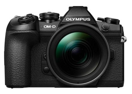 Olympus OM-D E-M1 Mark II + 12-40 mm + 45 mm černý