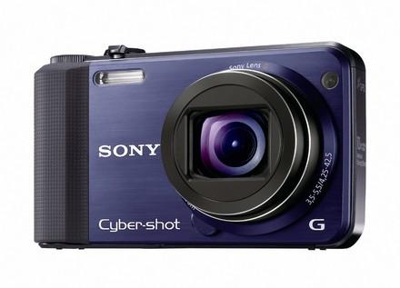 Sony CyberShot DSC-HX7 modrý + nahradní akumulátor zdarma!