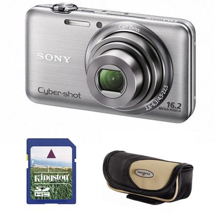 Sony CyberShot DSC-WX7 stříbrný + 4GB karta + pouzdro Korsika zdarma!