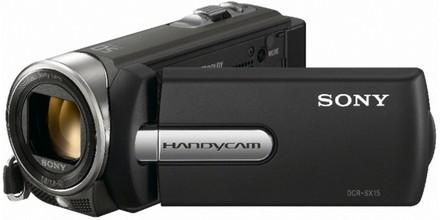 Sony DCR-SX15 černá