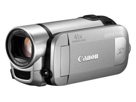 Canon LEGRIA FS406 stříbrná