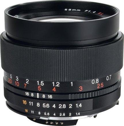 Voigtlander Nokton 58mm f/1,4 SL II Asph. AI-S pro Nikon