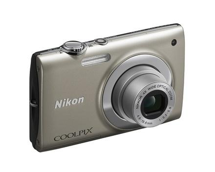 Nikon Coolpix S2500 stříbrný
