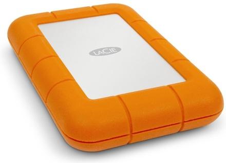 """LaCie Rugged 1TB HDD, 2.5"""" USB 3.1 Type C, hliníkový, odolný"""