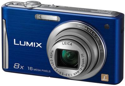 Panasonic Lumix DMC-FS35 modrý