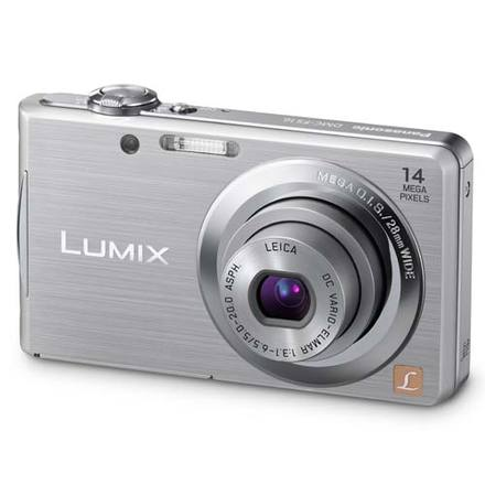 Panasonic Lumix DMC-FS16 stříbrný