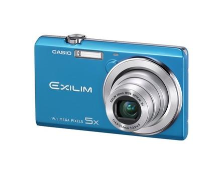 Casio EXILIM ZS10 modrý