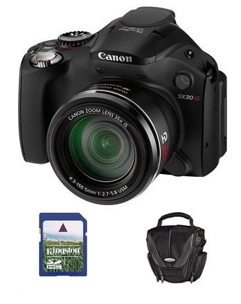 Canon PowerShot SX30 IS + 8GB karta + brašna Padova 15!