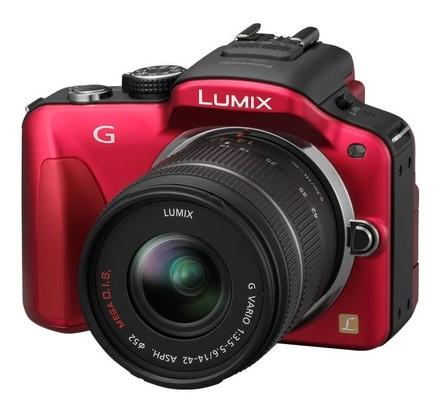 Panasonic Lumix DMC-G3 červený tělo