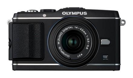 Olympus E-P3 + 14-42 mm II R + 40-150 mm R